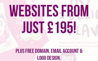 Cheap Website Design – Websites Now from Just £195!