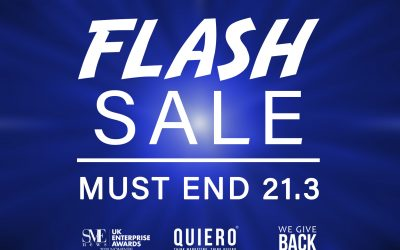 Flash SALE – 25% OFF